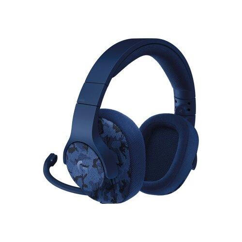 Компьютерная гарнитура Logitech G G433 синий камуфляж гарнитура