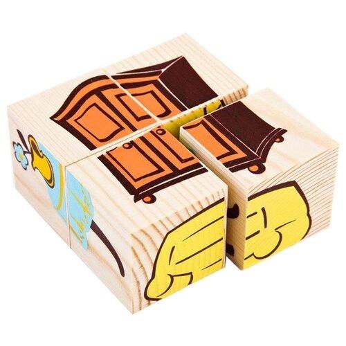 Кубики-пазлы Томик Мебель 3333-5 томик кубики алфавит с цифрами