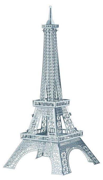 Сборная модель Educational Line 3D Metal Puzzle Эйфелева Башня L (WZ-9835),,
