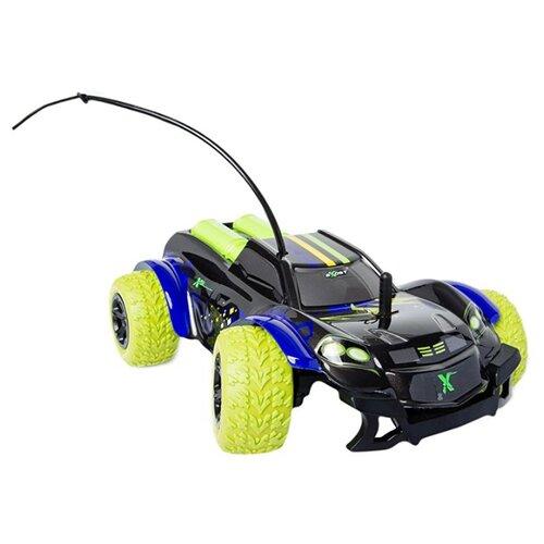 Трагги EXOST X-Bull (TE170) 1:18 черный/синий/зеленый фото