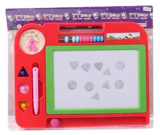 Доска для рисования детская Shantou Gepai с штампами и счётами (HS907)