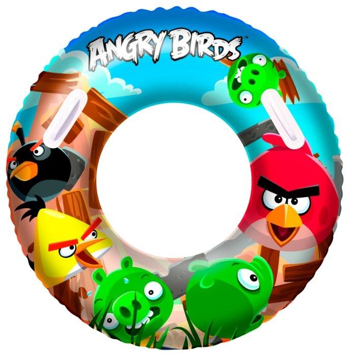 Круг для плавания Bestway Angry Birds 96102 BW