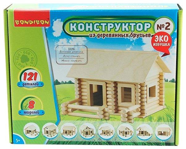 Конструктор BONDIBON Эко Избушка ВВ2602 №2