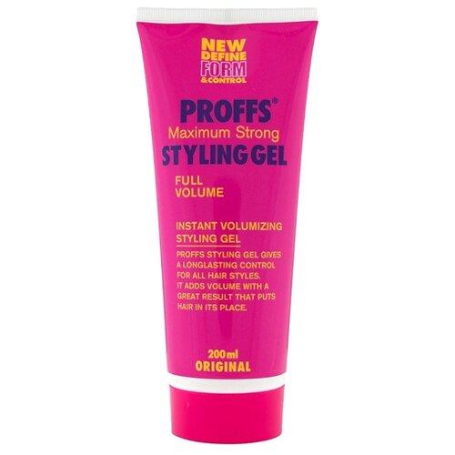 PROFFS гель для укладки Maximum Strong Styling Gel 200 мл proffs ocean mist средство для укладки волос 150 мл