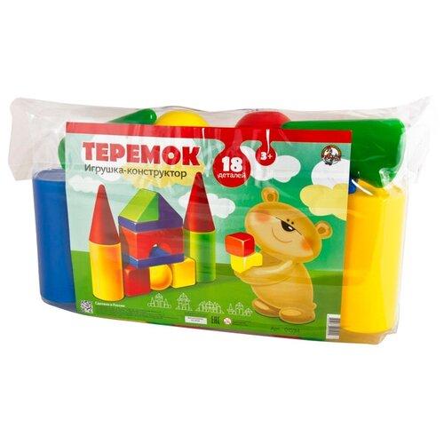 Купить Кубики Десятое королевство Теремок-18 01594, Детские кубики