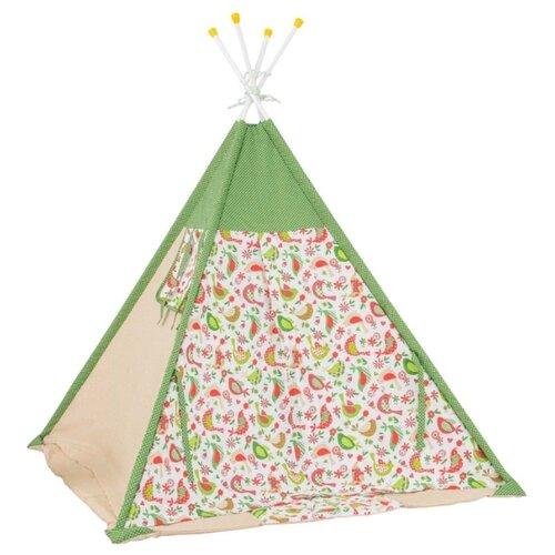 Купить Палатка Polini Кантри зеленый, Игровые домики и палатки