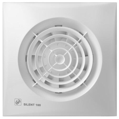 Вытяжной вентилятор Soler & Palau SILENT-100 CHZ, white 8 Вт