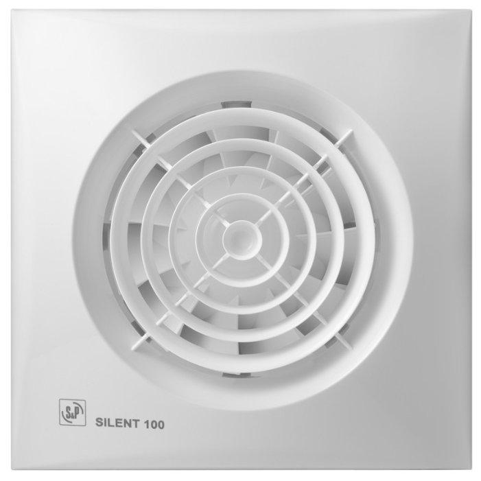 Накладные вентиляторы S&P SILENT 100 CHZ Design-3C с датчиком влажности Soler&Palau
