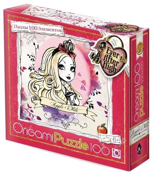 Пазл Origami Ever After High Эппл Вайт (00685), 100 дет.