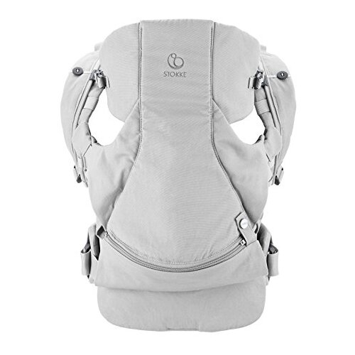 Рюкзак-переноска Stokke MyCarrier Front and Back grey grey scoop neck open back bodysuit
