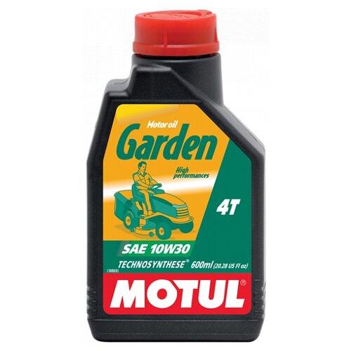 Масло для садовой техники Motul Garden 4T 10W30 0.6 л motul outboard tech 4t 10w30 2л