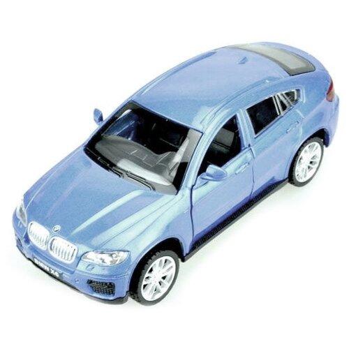 Купить Легковой автомобиль Пламенный мотор BMW X6 1:43 (870132) 1:43, Машинки и техника