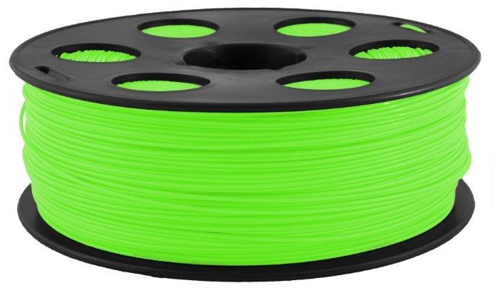 PLA пластик Bestfilament 1.75 мм для 3D-принтеров, 0.5 кг, салатовый