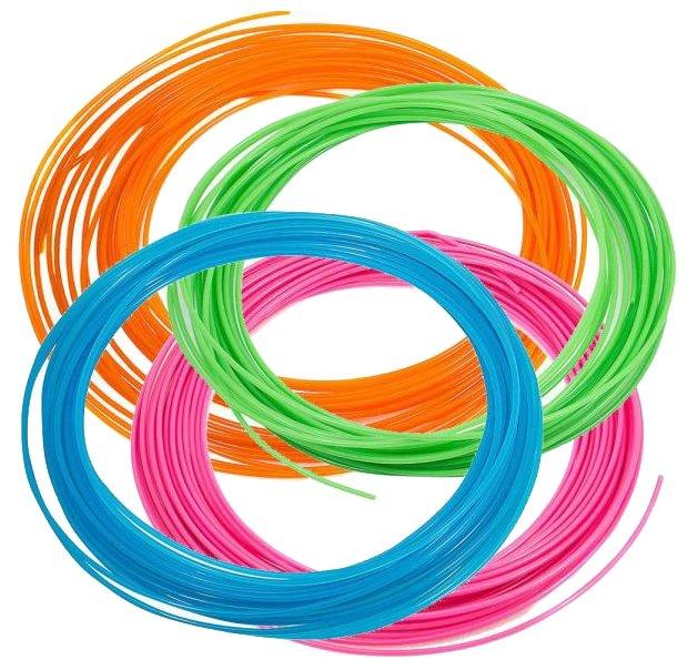 Набор №3 PLA прутков для 3D ручки PrintProduct 1.75 мм 4 цвета