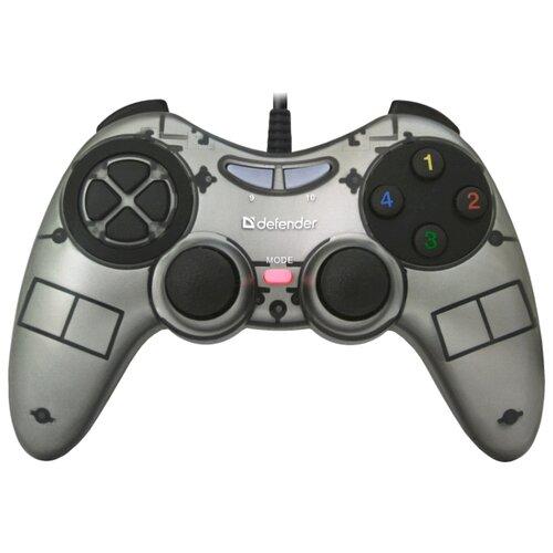 Геймпад Defender Zoom серый геймпад defender zoom серый