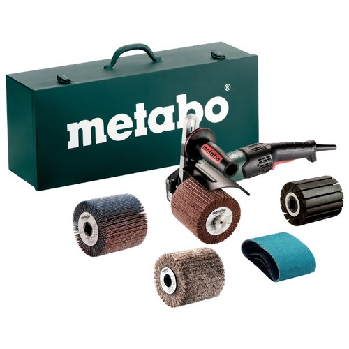 Щеточная шлифмашина Metabo SE 17-200 RT SET мини шлифмашина metabo w85100 metabow85100 850w 100mm