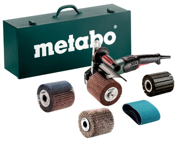 Щеточная шлифмашина Metabo SE 17-200 RT SET