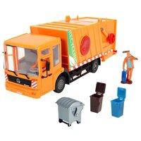 Мусоровоз игрушечный Dickie Econic City Service / 203748004 (оранжевый)