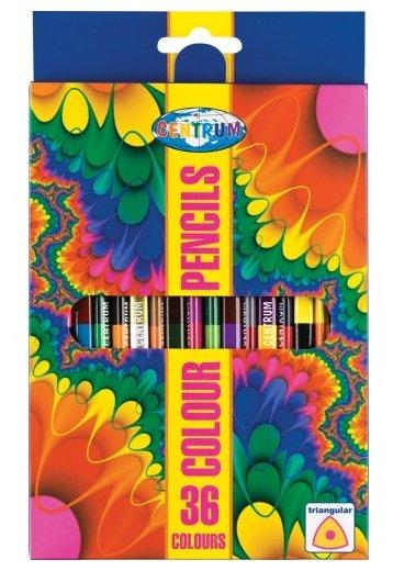 CENTRUM Цветные карандаши двусторонние 18 шт, 36 цветов (88018)