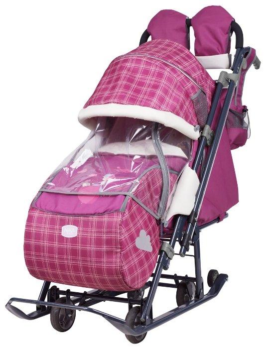 Санки-коляска Nika Ника детям 7-4 (НД 7-4)