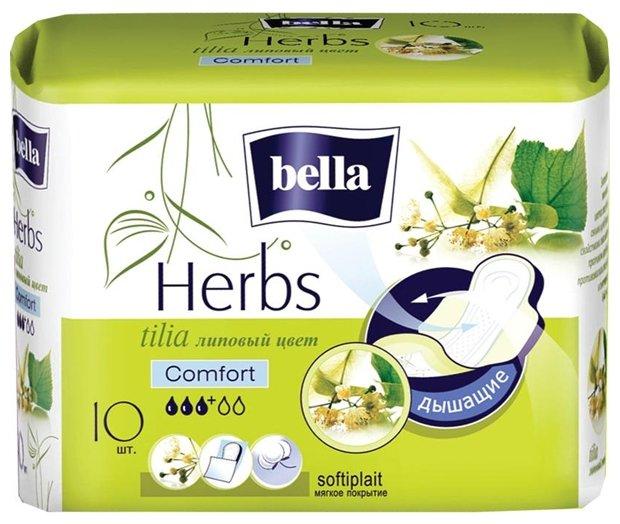 Bella прокладки Herbs tilia comfort softiplait