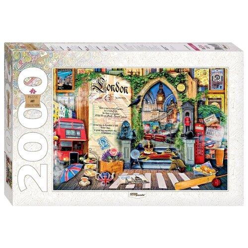 Купить Пазл Step puzzle Лондон Жизнь - открытая книга (84033), 2000 дет., Пазлы