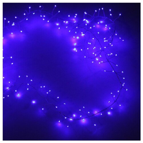 Гирлянда Sh Lights Фейерверк, 200 см, LDM-200-FC, 200 ламп, синий
