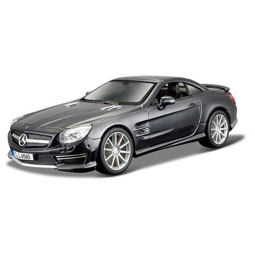 Купить Легковой автомобиль Bburago Mercedes-Benz SL 65 AMG Hardtop (18-21066) 1:24 17 см черный, Машинки и техника