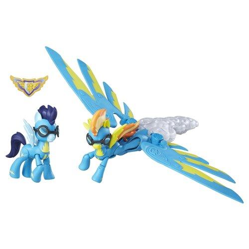 Игровой набор My Little Pony Хранители гармонии Спитфайр и Соарин B6011 игровой набор b2072eu4 на ферме яблочная аллея my little pony my little pony