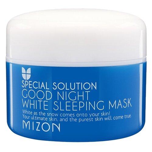 Mizon Good Night White Sleeping Mask ночная осветляющая маска, 80 мл dr jart good night firming sleeping mask
