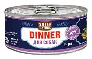 Корм для собак Solid Natura Dinner для собак - Ягненок