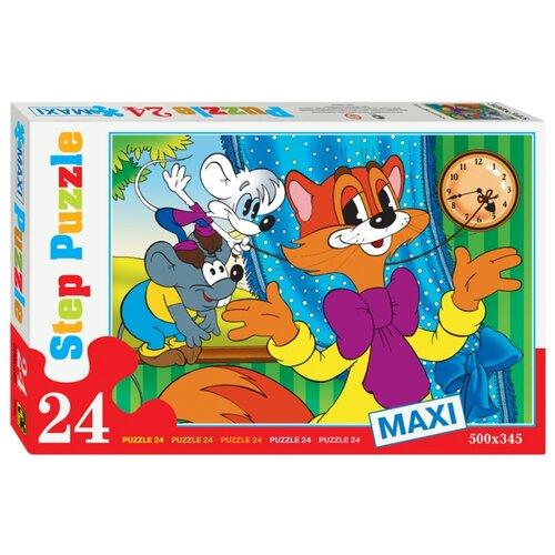 Пазл Step puzzle Экран Кот Леопольд (70001), 24 дет. пазл step puzzle park