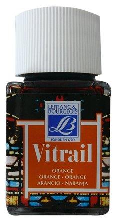 Краски LEFRANC & BOURGEOIS Vitrail Оранжевый 201 LF210792 1 цв. (50 мл.)
