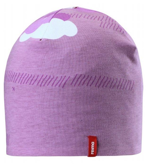 Шапка-бини Reima размер 56, розовый