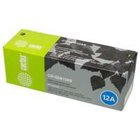 Картридж лазерный Cactus CS-Q2612AS (Q2612A), черный, 2000 страниц, совместимый, для LJ M1005 / M1319f / 3050 / 3050z / 3015 / 3020 / 3030 / 1010 / 1012 / 1015 / 1020 / 1022 / 1022n / 1022nw