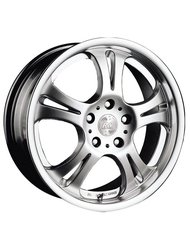 Диски Racing Wheels H-125 7,0x17 5x108 D63.4 ET45 цвет HS/HP - фото 1