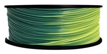 PLA пруток FL-33 1.75 мм зелено-желтый