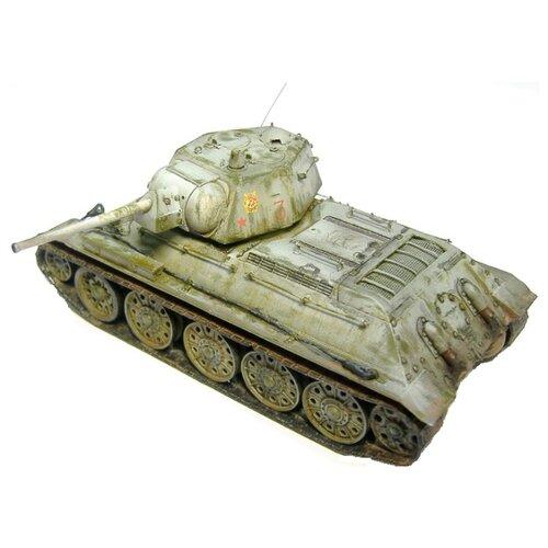 Сборная модель ZVEZDA Советский средний танк Т-34/76 (обр. 1942 г.) (3535) 1:35 сборная модель zvezda советский средний танк т 34 76 обр 1942 г 3535pn 1 35