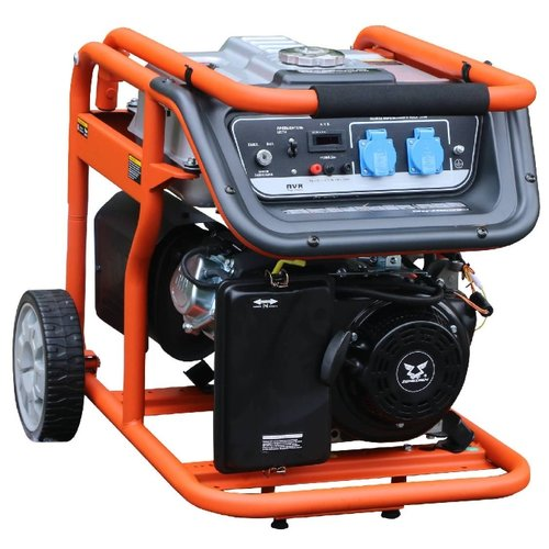 Бензиновый генератор ZONGSHEN KB 5000 E (4000 Вт) бензиновый генератор kronwerk kb 5000 4500 вт