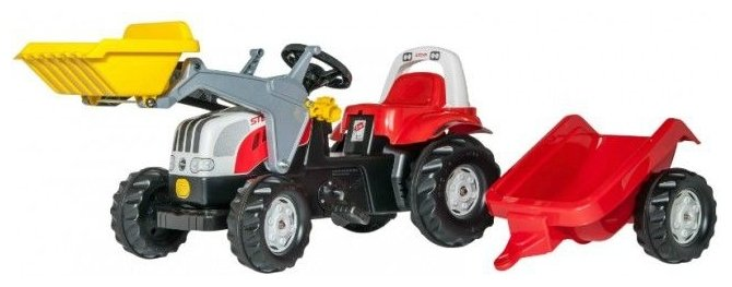 Веломобиль Rolly Toys Kid Steyr CVT 6165 (023936)