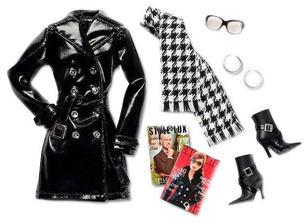 Barbie Комплект одежды и аксессуаров для куклы Барби Styled By Tim Gunn Accessories 2