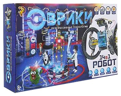 Электромеханический конструктор ЭВРИКИ Эврики 1250594 Робот 14 в 1 — купить по выгодной цене на Яндекс.Маркете