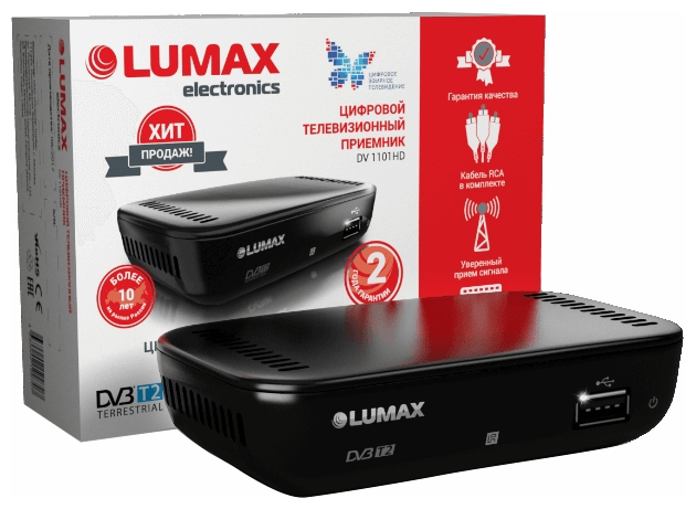 TV-тюнер LUMAX DV-1101HD