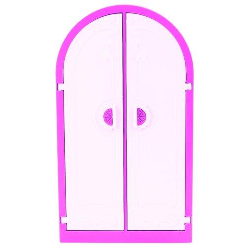 Купить ОГОНЁК Шкаф Зефир (С-1470) розовый/белый, Мебель для кукол