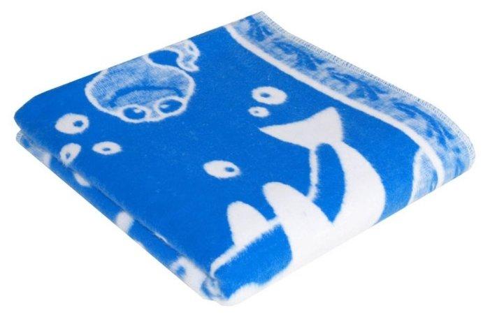 Одеяло детское, байковое, 100*140, (Ермолино) Коралл