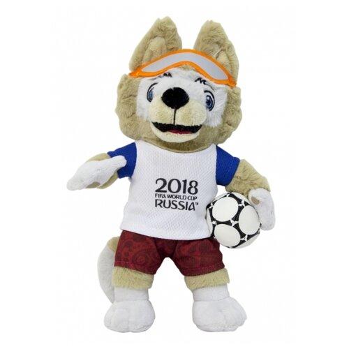 Мягкая игрушка 1 TOY FIFA-2018 Волк Забивака 33 см 1toy мягкая игрушка fifa 2018 1toy волк забивака 28 см