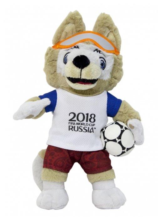 Мягкая игрушка 1 TOY FIFA-2018 Волк Забивака 33 см