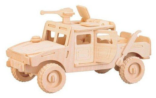 Сборная модель Мир деревянных игрушек Хаммер (П063),,
