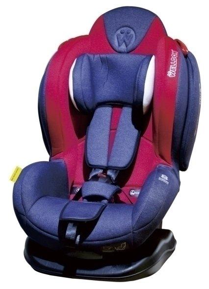 Автокресло группа 1/2 (9-25 кг) Welldon Smart Sport SideArmor & CuddleMe