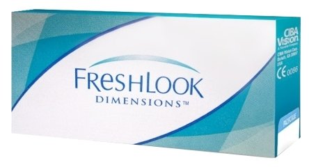 FreshLook (Alcon) Dimensions (2 линзы)